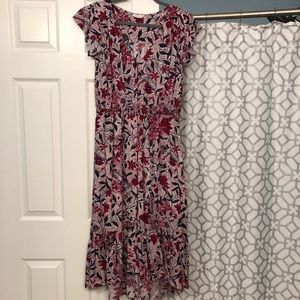 Beautiful red, white, and blue Lucky Brand dress.